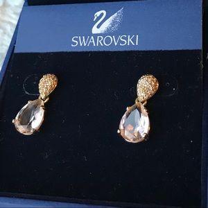 STUNNING SWAROVSKI FARFALLA EARRINGS - New in box